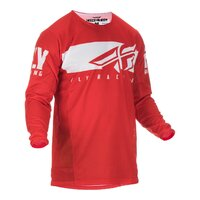 FLY 2019 Kinetic Shield Jersey (Red/White) - M