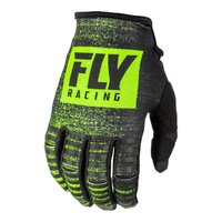 FLY 2019 Kinetic Noiz Glove (Youth Black/Hi-Vis) - YS