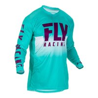 FLY 2019 Lite Hydrogen Jersey (Sea/Port/White) - S