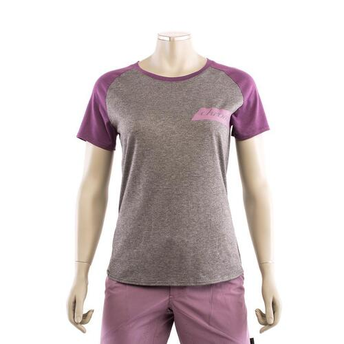 CHROMAG EM Women's Tech Tee (Grey Heather/Arctic Dusk)