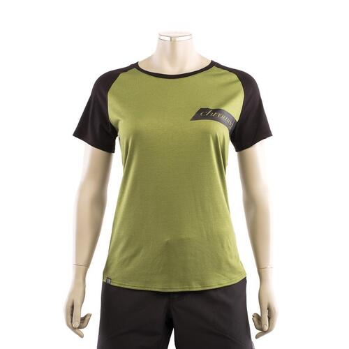 CHROMAG EM Women's Tech Tee (Dill/Black)