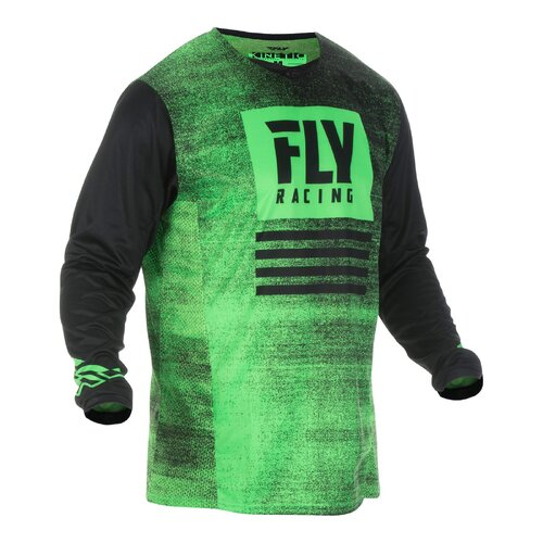FLY 2019 Kinetic Noiz Jersey (Youth Green/Black)