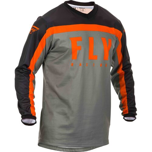 FLY 2020 F-16 Jersey (Youth Grey/Black/Orange)