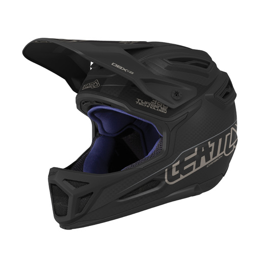 LEATT 2019 DBX 6.0 Carbon V23 Helmet (Carbon/Black)