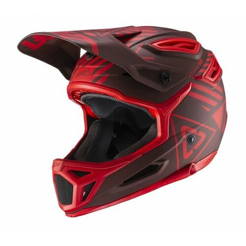 LEATT 2019 DBX 5.0 V19.1 Helmet (Ruby)
