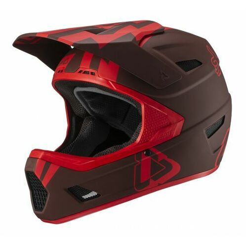 LEATT 2019 DBX 3.0 DH V19.2 Helmet (Stadium Ruby)