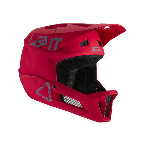 LEATT 2021 MTB 1.0 DH Helmet (Junior Chilli)