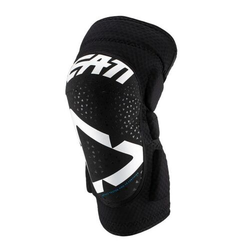 LEATT 2019 3DF 5.0 Knee Guard (Junior White/Black)