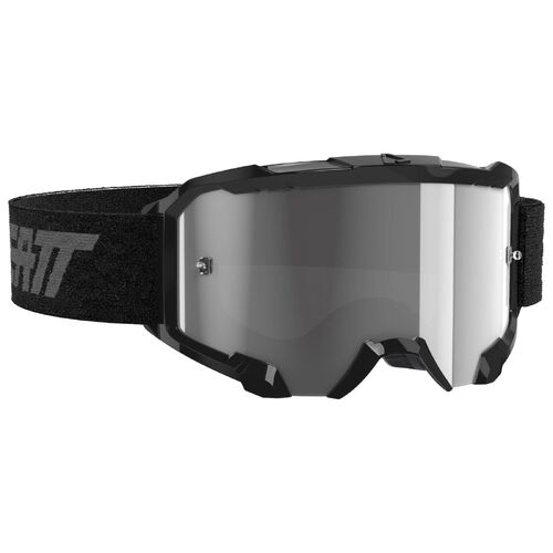 LEATT 2021 4.5 Velocity Goggle (Light Grey Lens) - Black