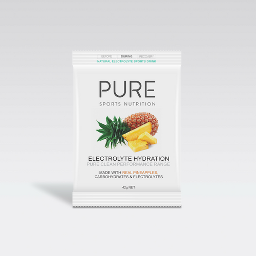 PURE Electrolyte Hydration Satchet (Pineapple) - 42g